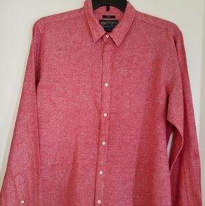 American Rag Red Dress Shirt